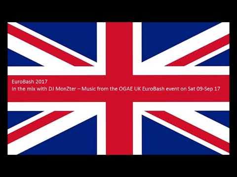 OGAE UK EuroBash Event 2017 - IN THE MIX WITH DJ MONZTER