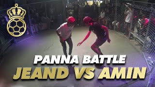Jeand Doest VS Amin B at WSF Tournament 2013 part 5 Semi Final