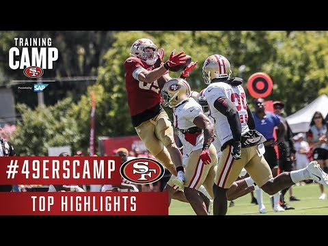 63c54629 Top Highlights from the First Week of #49ersCamp | San Francisco 49ers