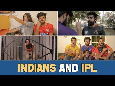 Indians And IPL Feat. Sadak chhap | Hasley India