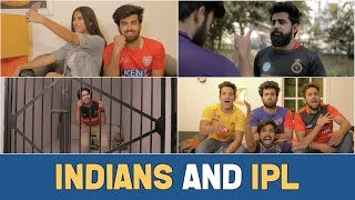 TYPES OF PEOPLE DURING IPL | Hasley India