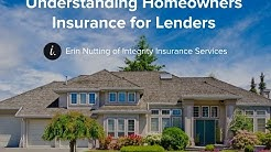Understanding Homeowners Insurance for Lender and Mortgage Processors