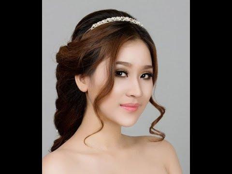 Những kiểu tóc cô dâu đơn giản đẹp phong cách Hàn Quốc | Tổng hợp các tài liệu về nhung kieu toc nu dep nhat han quoc chính xác