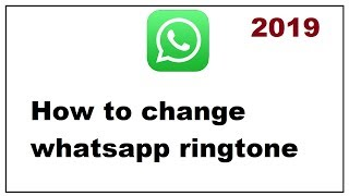 You need to got tom whatsapp settings and then click on notification under messages tone option change the notificati...