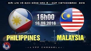Philippines U19 vs Malaysia U19 full match