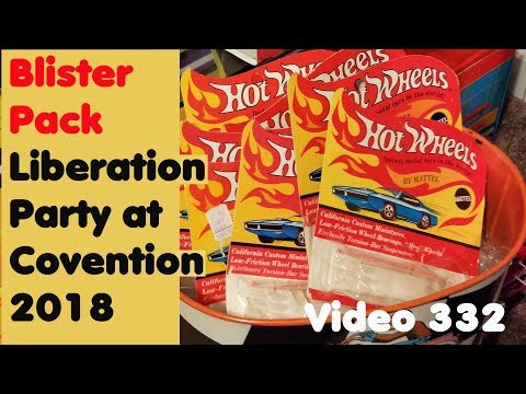 2018 Hot Wheels Convention – Blister Pack Liberation   #332 – October 4th, 2018