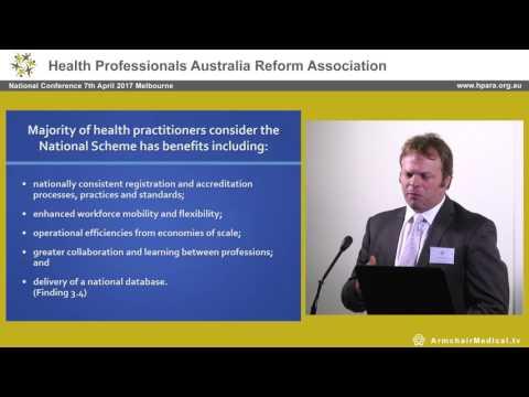Legislative Council AHPRA report   2014 David O'Brien