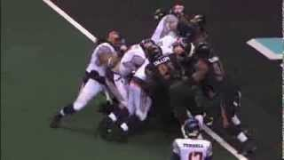 Arizona Rattlers vs Spokane Shock video highlights