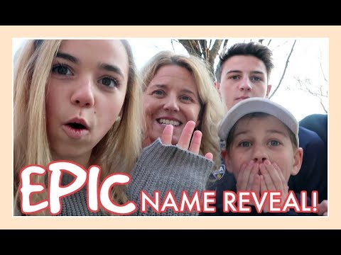 EPIC NAME REVEAL   ANNOUNCING OUR NEW YOUTUBE CHANNEL NAME!