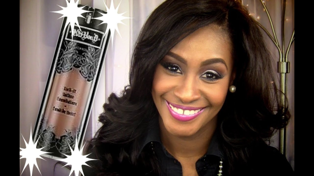 Tattoo Girl Von - Kat von d lock it tattoo foundation review demo for woman of color youtube