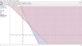 Tutorial Geogebra penyelesaian masalah program linear