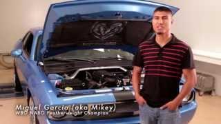 Challenger vs Camaro - Mikey Garcia and Bam Bam Rios Supercharged Dyno Shootout