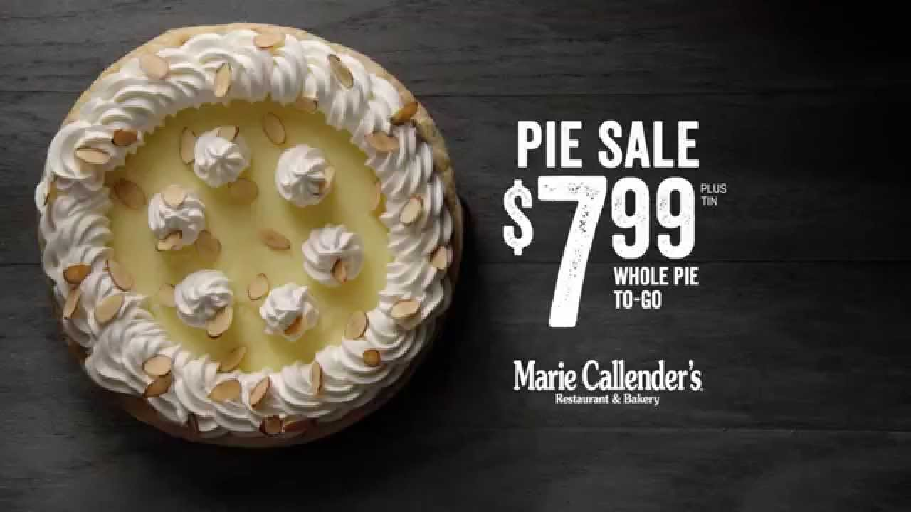Marie Callender S Pie 7 99 Plus Tin