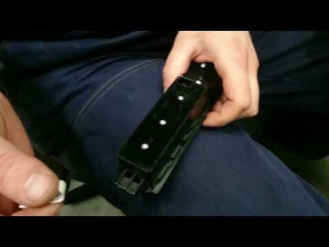 Ремонт кнопок стеклоподъёмников мерседес вито