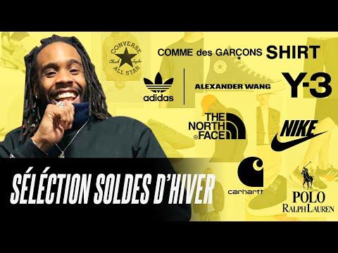 SÉLECTION SOLDES D'HIVER 2019 : SNEAKERS & VETEMENTS !