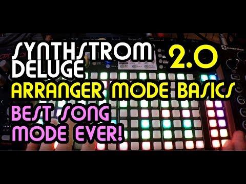 Arranger Mode Basics (v2.0) // Synthstrom Deluge Tutorial