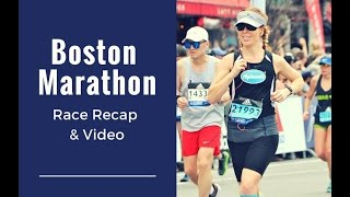 Boston Marathon Recap & Course Description