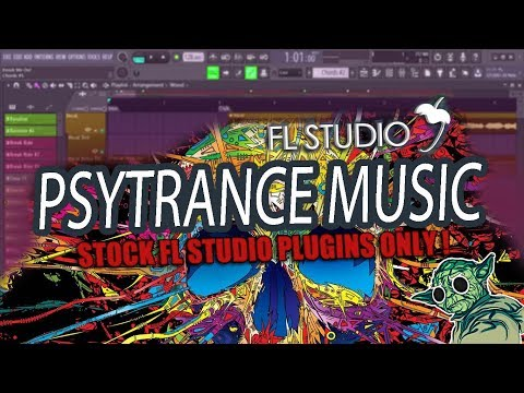 How To Make Psytrance Music In 5 Minutes [FL Studio] thumbnail