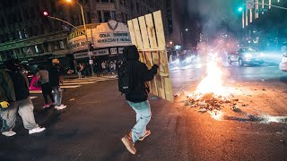 ⚠️GRAPHIC CONTENT: George Floyd Protests Turn to Riots in Los Angeles | Fires, Looting & Tear Gas