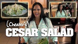 *rewind* Mariah Milano's Homemade Cesar Salad! Huge Shortcut!