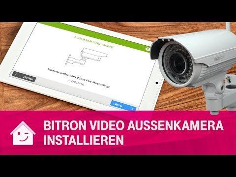 Social Media Post: BitronVideo Außenkamera AV7210/10 installieren | Telekom Magenta...