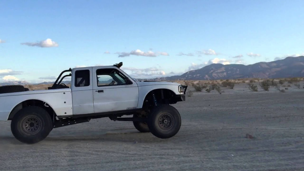 Long Travel Ford Ranger Ocotillo Wells Youtube