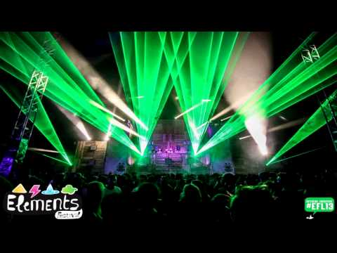 Gancher & Ruin vs Ruffneck @ Elements Festival 2013 [MuSick Stage]