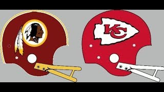 Action PC Football 1980 Tournament Redskins vs Chiefs -PLAY IN GAME