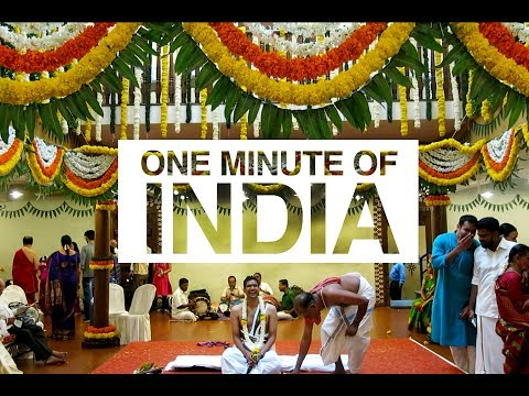 INDIA (BANGALORE) IN ONE MINUTE