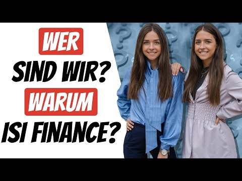 Wer sind wir? Warum ISI finance?