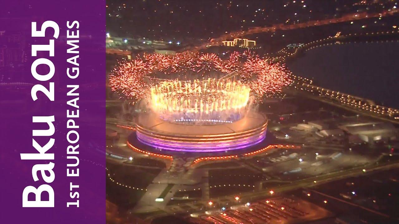 Full Replay of the Baku 2015 European Games Closing