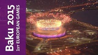 Full Replay of the Baku 2015 European Games Closing Ceremony   Baku 2015 European Games