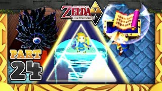 The Legend of Zelda: A Link Between Worlds - Part 24 - Ice Ruins & Triforce of Courage!