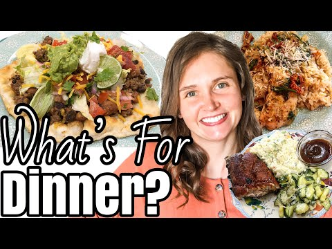 WHAT'S FOR DINNER? | *SIX* EASY DINNER IDEAS | SUMMER MEALS 2020 | Julia Pacheco