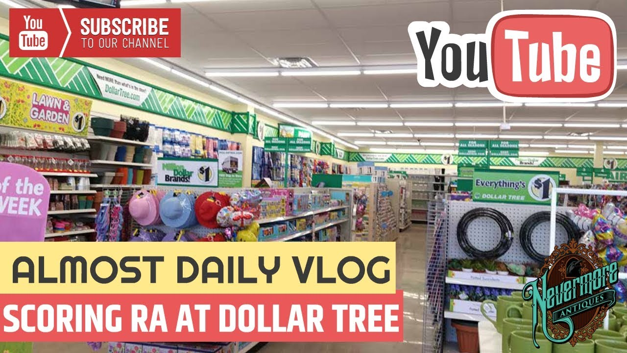RETAIL ARBITRAGE: Items Found at Dollar Tree For Resale | Goodwill Haul |  Kids Have The Flu