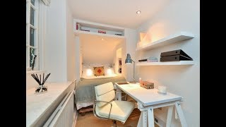 Top 40 Smart Storage Design Ideas For Small Bedroom Tour 2018 | Bed Box Under Stairs Room Cabinet