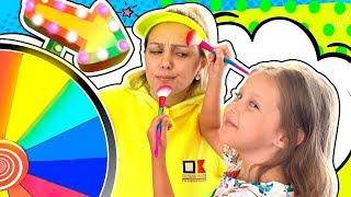 24 ЧАСА Одного Цвета! Желтый Цвет для Мамы и Розовый Цвет для Папы!