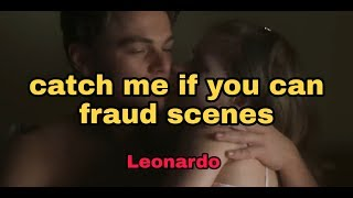 All flirting scenes catch me if you can | Leonardo De Caprio Full HD