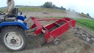 Картоплекопалка польська на мінітраторі Синтай - 244.