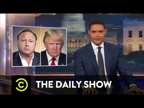 Thumbnail: Alex Jones: Conspiracy Pusher or Performance Artist?: The Daily Show
