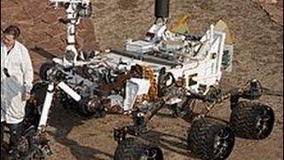 NASA 好奇號(Curiosity)火星探測車著陸過程