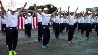陸上自衛隊第1師団 練馬駐屯地納涼祭2017 パフォーマンス大会 新入隊員による自衛隊体操 JGSDF 1st Division Summer Festival SDF Taisou