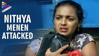 Goons trying to rape Nitya Menon - Nithya Movie Scenes - Revathi, Shweta Menon