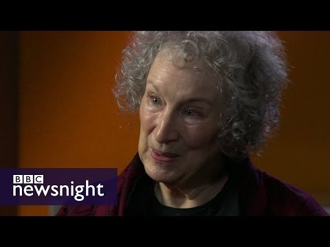 Margaret Atwood on Bob Dylan winning Nobel Prize for Literature - BBC Newsnight