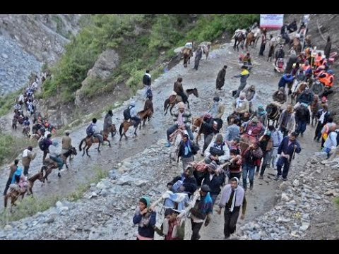 Amarnath Yatra Temporarily Suspended From Jammu Due To Bad Weather !!!