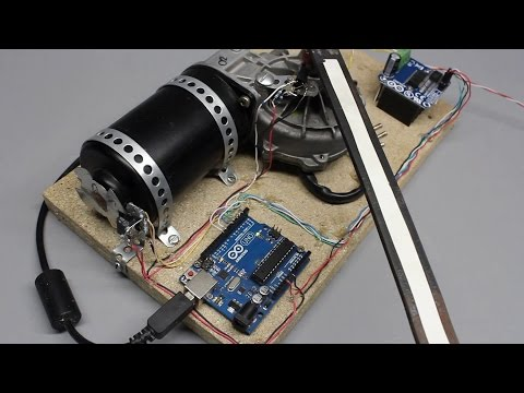 Rotary encoder or: How to build a digital servo using an Arduino and photo sensors