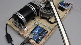 Rotary encoder or: How to build a digital servo using an Arduino and photo sensors