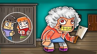 Minecraft | GRANDMA.EXE - Escape Psycho Grandparents House! (Evil Grandma)
