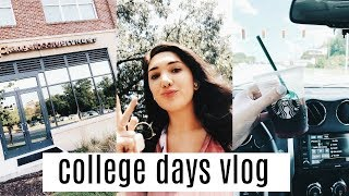 college days in my life   hauls, getting in a routine etc