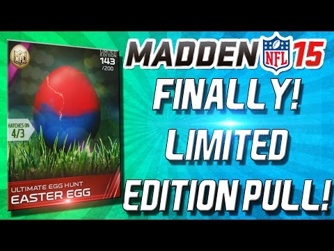 Madden 15 Ultimate Team - LIMITED EDITION EGG PULL! LAWRENCE TAYLOR? - MUT 15